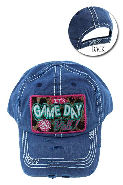 Its Game Day Yall Hats - orangeshine.com