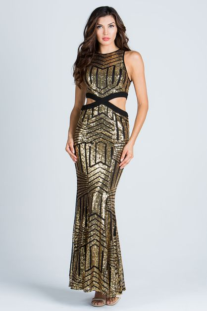 SEQUIN DRESS - orangeshine.com