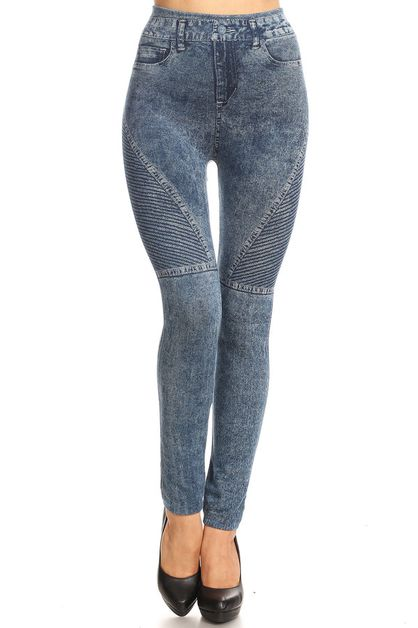 High waist jegging - orangeshine.com