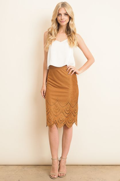 cut out pattern skirt - orangeshine.com