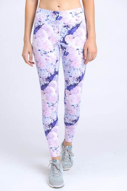 FLORAL PRINT FULL LEGGINGS - orangeshine.com