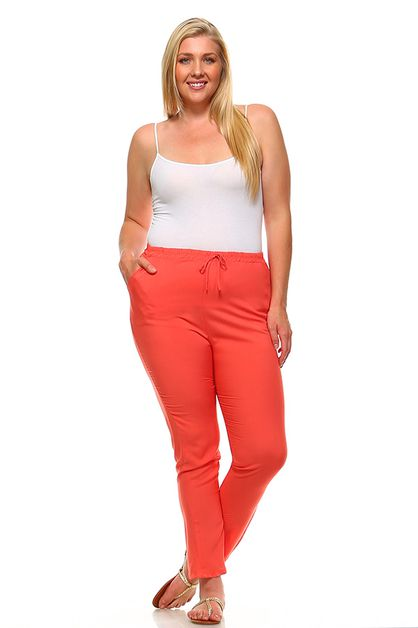 Drawstring Pants - orangeshine.com