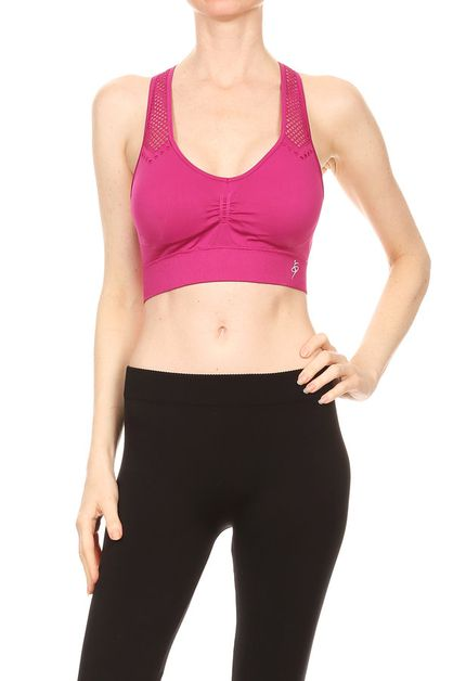 Racer back sports bra - orangeshine.com