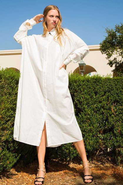 LONG SHIRT DRESS - orangeshine.com