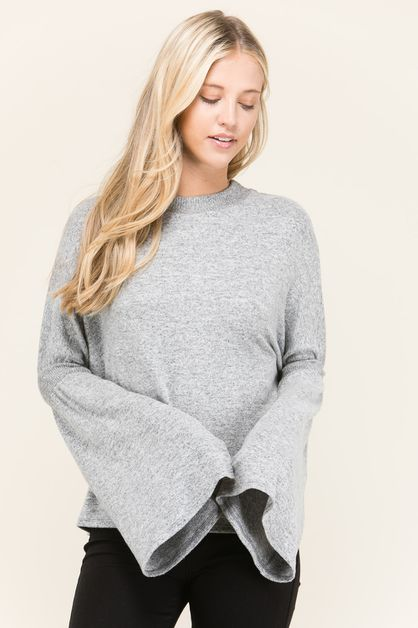 RETITIA  MOCKNECK SWEATER    - orangeshine.com