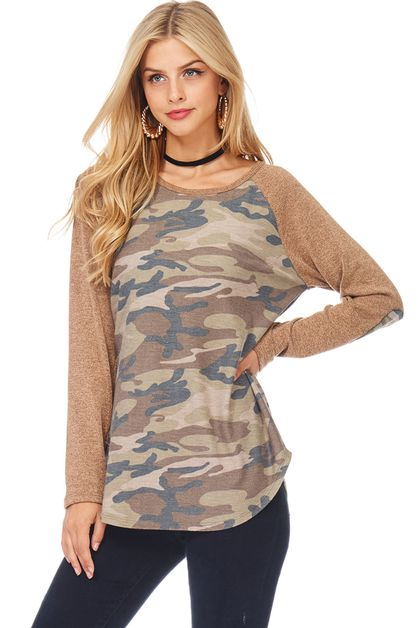 SWEATER CAMO ARMY - orangeshine.com