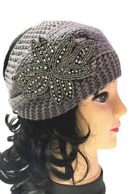 knit headband - orangeshine.com