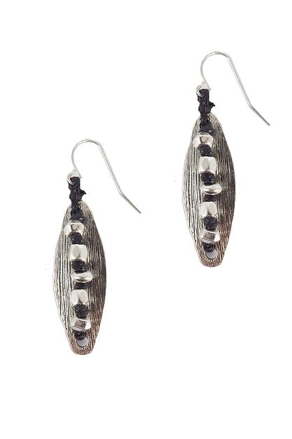 Beads Fish Hook Earrings - orangeshine.com