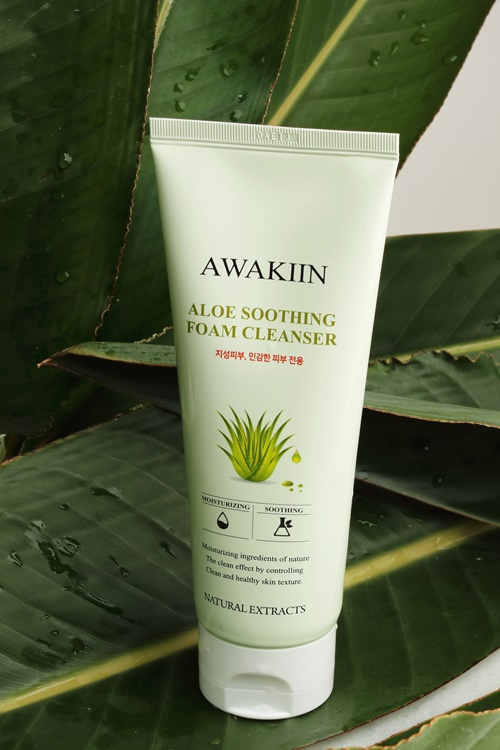 ALOE SOOTHING FOAM FACE CLEANSER - orangeshine.com