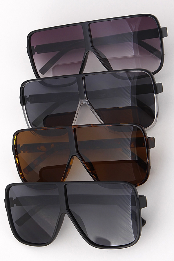 Aviator Tinted Unique Sunglasses - orangeshine.com