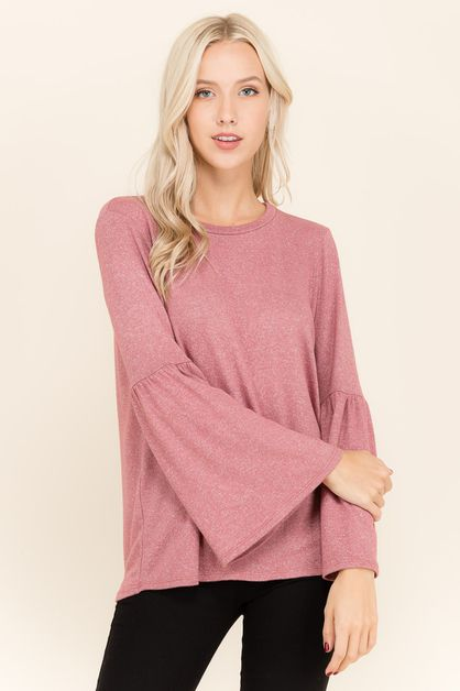 BELL SLEEVE SWEATER  - orangeshine.com