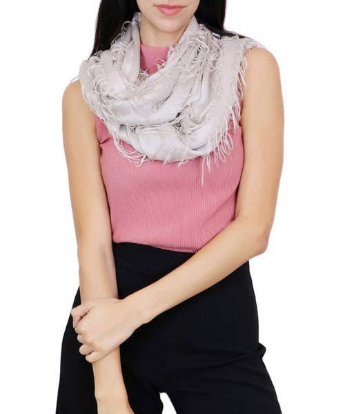 Solid Color Infinity Scarf - orangeshine.com