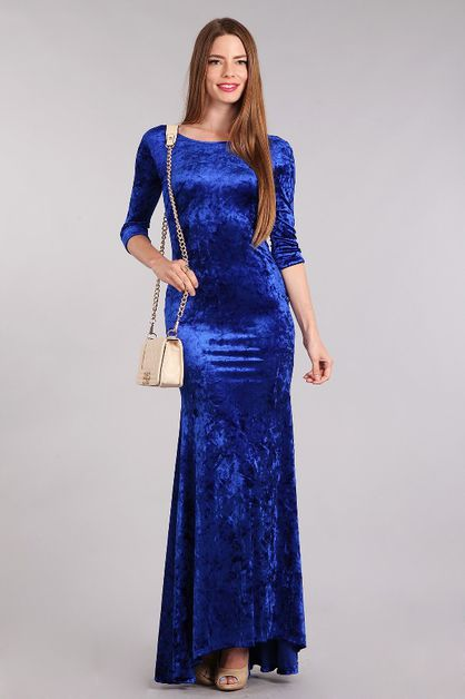 VELVET  DRESS - orangeshine.com