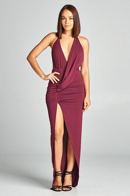 Long Cocktail Dress - orangeshine.com
