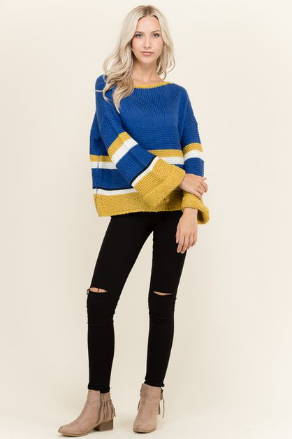 COLOR BLACK SWEATER - orangeshine.com