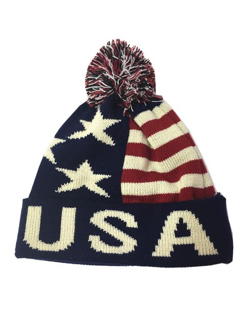 usa knit hat - orangeshine.com