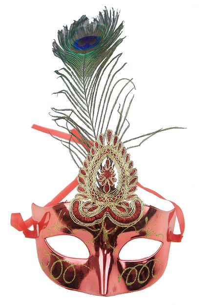 Peacock Mask - orangeshine.com