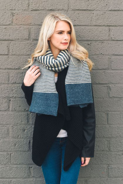 Soft Multi Stripe Scarf - orangeshine.com