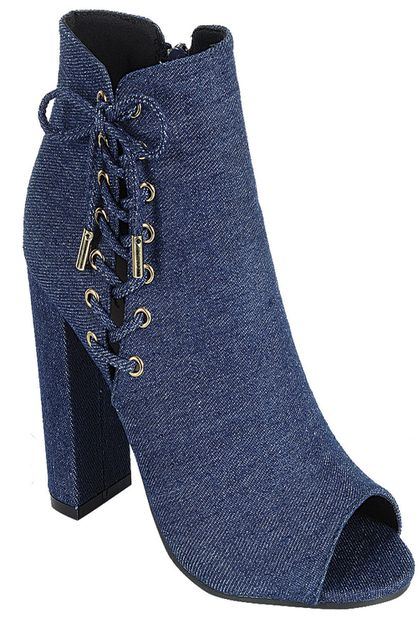 DENIM BOOTIES - orangeshine.com