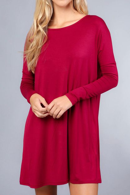 MUST HAVE SOLID TUNIC - orangeshine.com