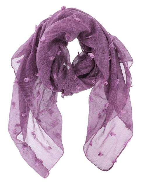 Semi Sheer Oblong Scarf - orangeshine.com