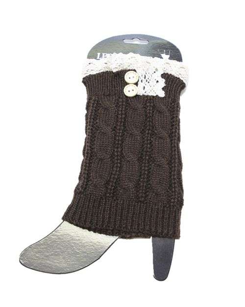 knit with lace leg warmers - orangeshine.com