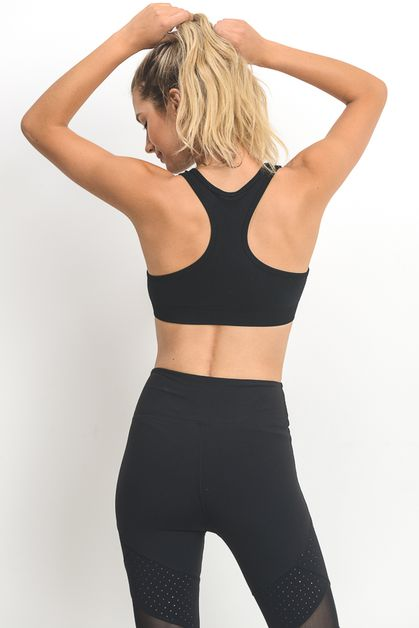 RACERBACK SEAMLESS SPORTS BRA - orangeshine.com