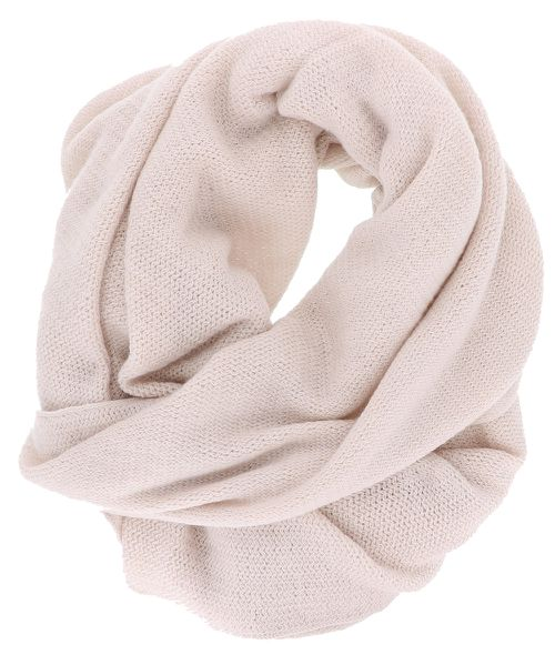 Knit Soft Pink Fashion Oblong Scarf - orangeshine.com