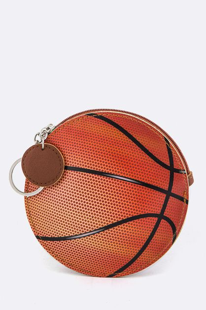 Basket Ball Coin Purse Key Charm - orangeshine.com
