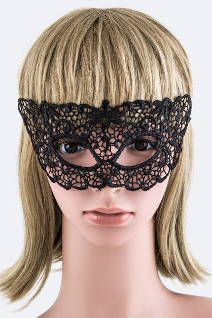 Tie Lace Fashion Mask - orangeshine.com