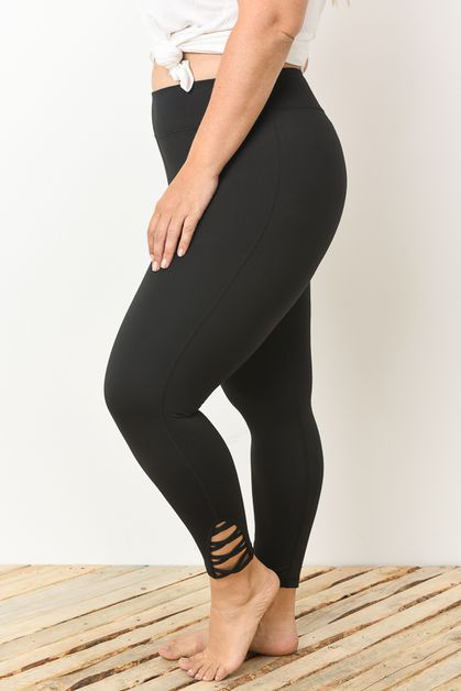 ATHLETIC LEGGING STRAPPY  - orangeshine.com
