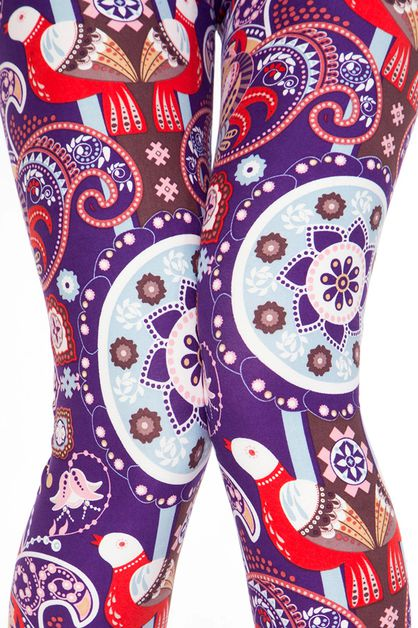 UNIQUE PRINT LEGGINGS - orangeshine.com