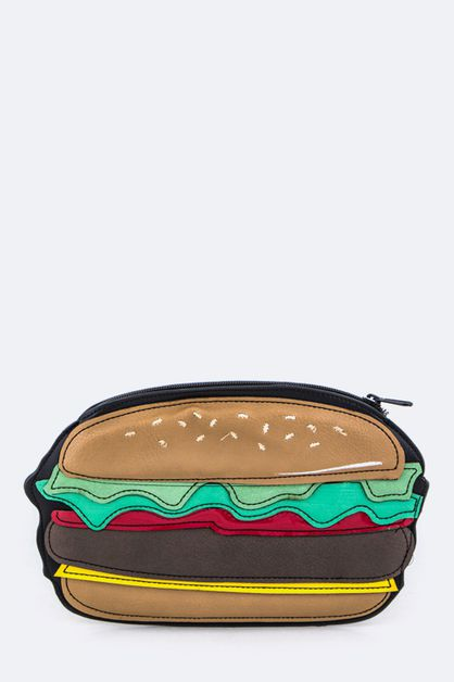 Hamburger Mini Pouch - orangeshine.com