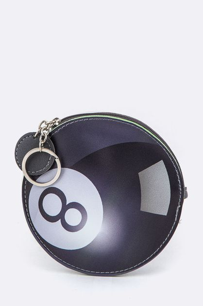 Billiard Ball Coin Purse Key Charm - orangeshine.com
