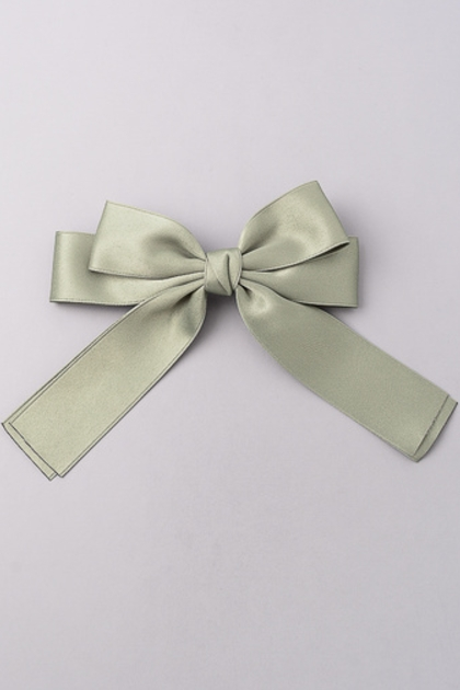 Satin Hair Bow - orangeshine.com