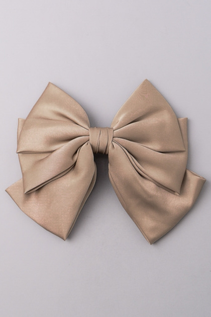 Silky Hair Bow - orangeshine.com