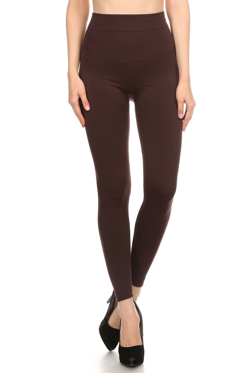solid fleece legging - orangeshine.com