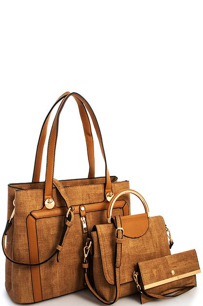 3in1 Fashion Designer Modern Satchel - orangeshine.com