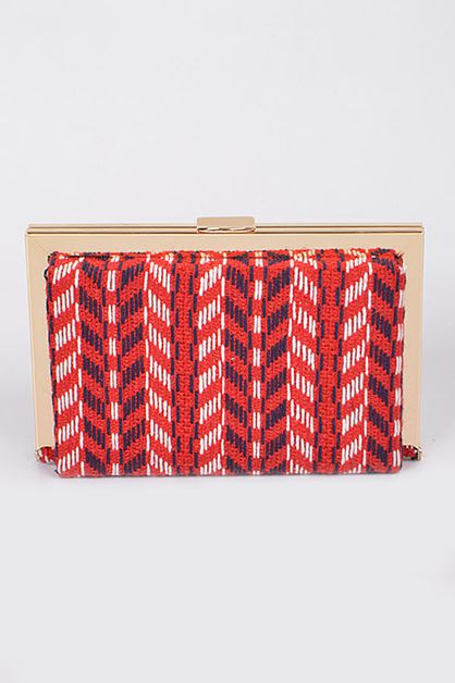 TRIBAL INSPIRED CLUTCH - orangeshine.com