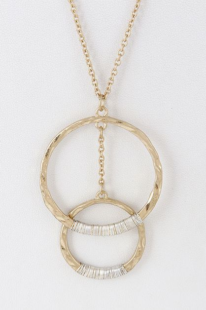 MULTICIRCLE NECKLACE - orangeshine.com