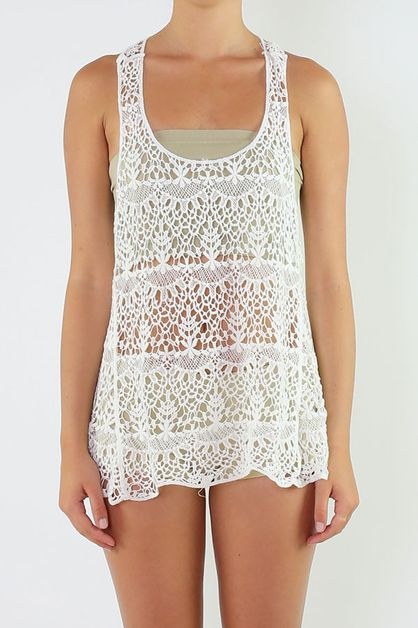 Crochet Top - orangeshine.com