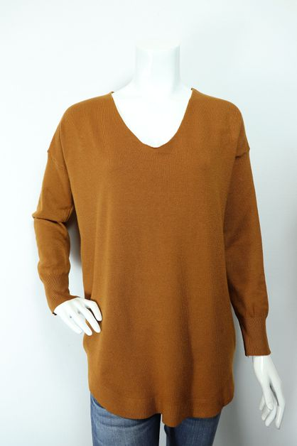 laced open back sweater - orangeshine.com