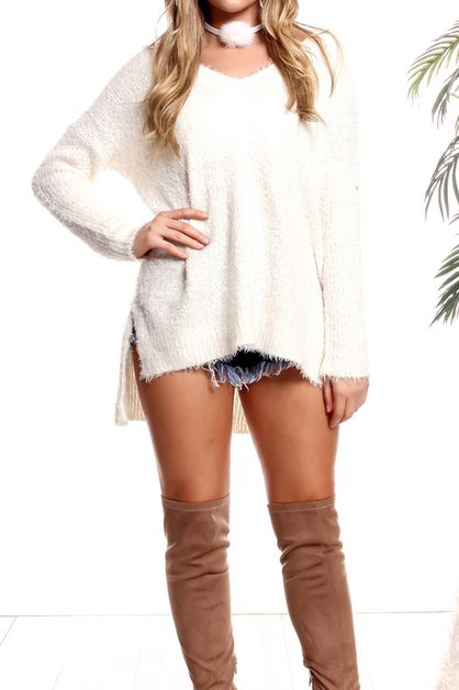 CASUAL SWEATER - orangeshine.com