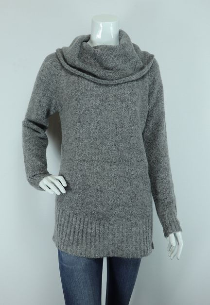 ruffled collar solid sweater - orangeshine.com