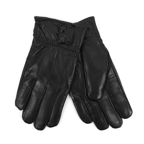 Mens Genuine Leather Winter Gloves  - orangeshine.com