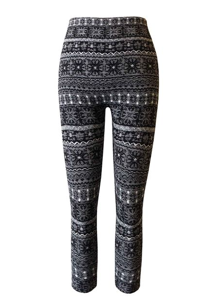 Kids Fleece Leggings Girls Winter  - orangeshine.com