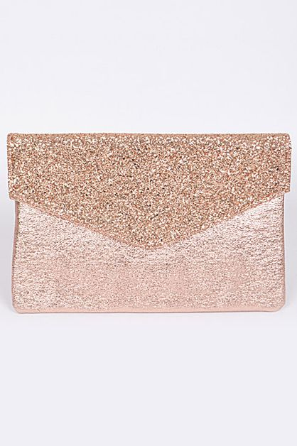 GLITTER AND SPARKLE ENVELOPE CLUTCH - orangeshine.com