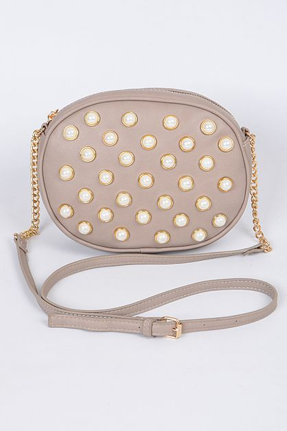 MULTI STUDDED CLUTCH - orangeshine.com