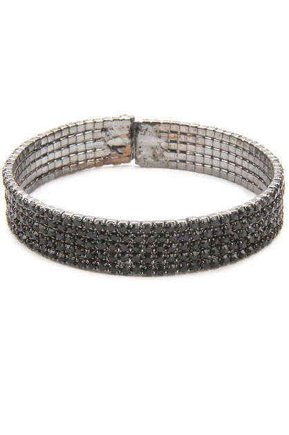 Rhinestone Bangle Bracelets - orangeshine.com