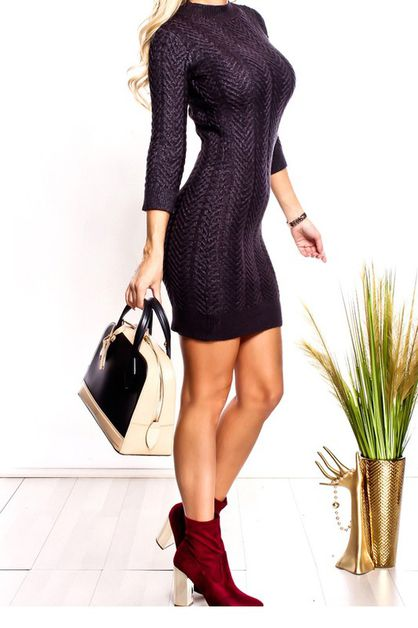 SWEATER DRESS - orangeshine.com